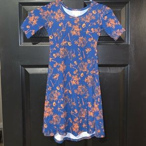Girls Lularoe Adeline Dress size 6. New
